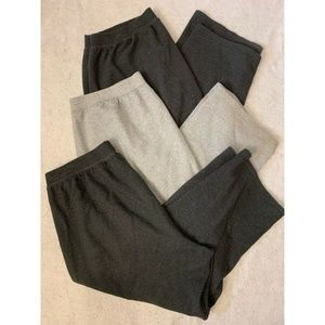 Lot Of 3 Just My Size Sweatpants Gray Size 4X